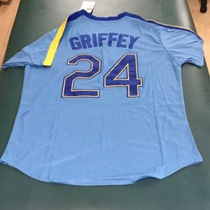 Ken Griffey Je Seattle Mariners MLB Jersey